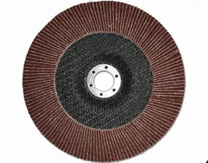 Круг лепестковый шлифовальный ПРАКТИКА 180 х 22 мм Р40