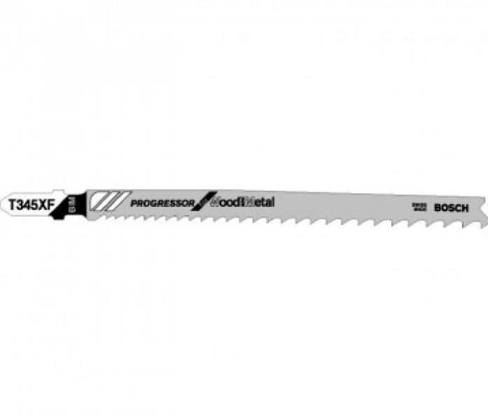 Пилка для лобзика Bosch T345 XF