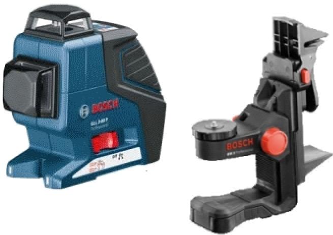 Нивелир линейный лазерный Bosch GLL 3-80 BM1 L-BOXX 0601063309
