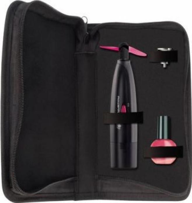 Маникюрно-педикюрный набор Rowenta MP3202F0 черный/розовый