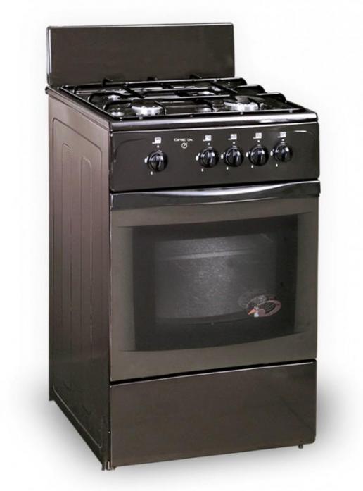 Газовая плита Greta 1470-00-12 коричневая