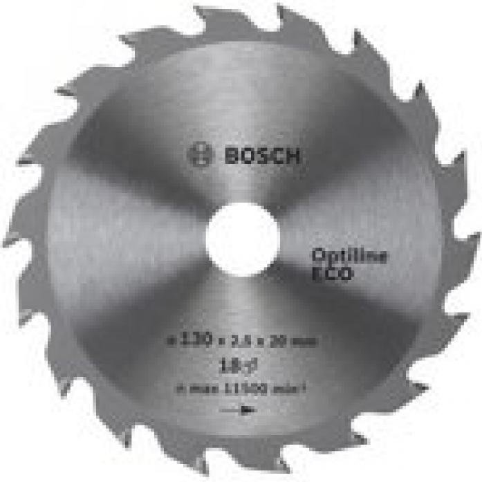 Пила твердосплавная Bosch ECO 190х20/16х 24 Optiline