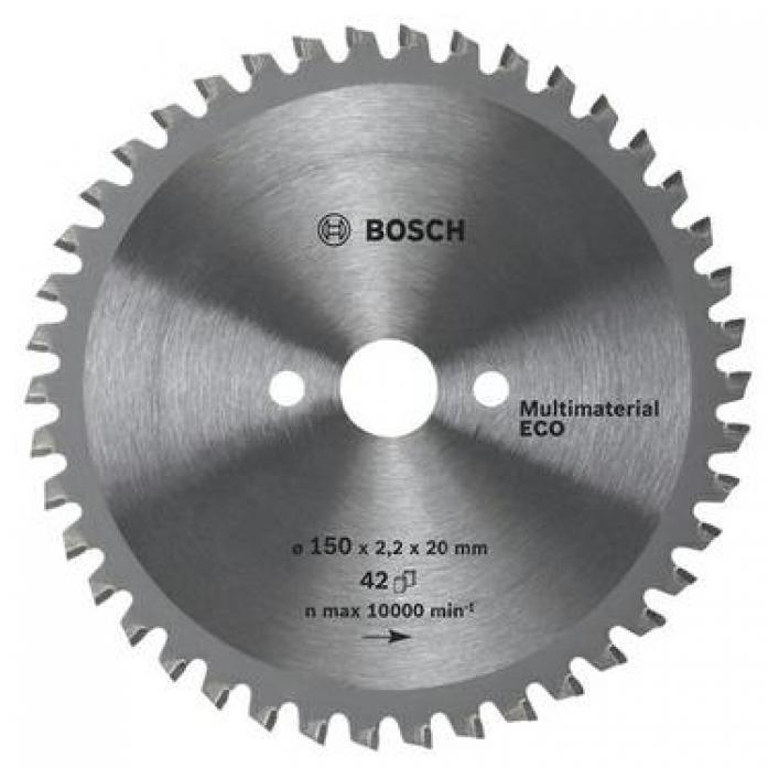Пила твердосплавная Bosch ECO 190х30х 54 Multi