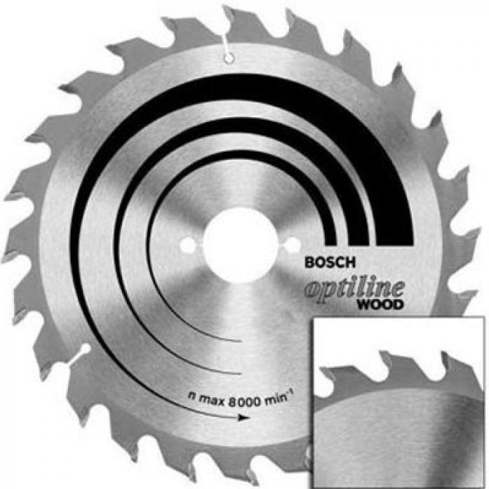 Пила твердосплавная Bosch 190х30х 36 Optiline 2.608.640.616