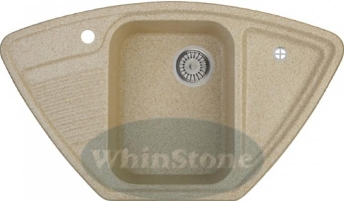 Кухонная мойка Whinstone Одра угол (арт. Е01) светло-бежевый