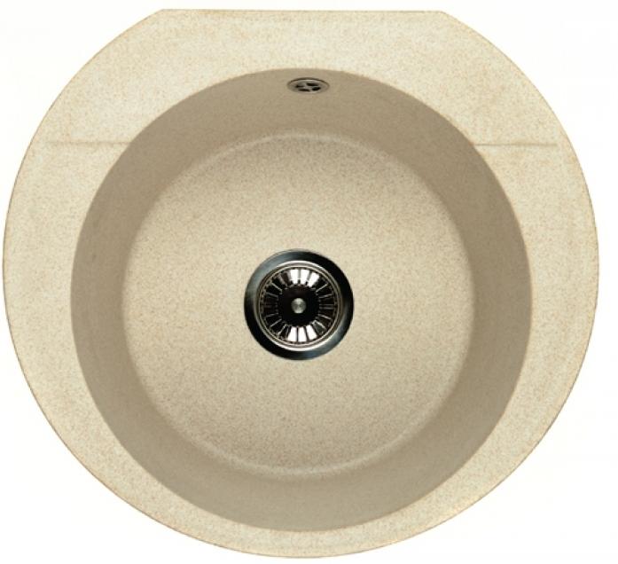 Кухонная мойка Whinstone Ронда (арт. А20) черный металлик