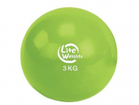 Медбол Lite Weights Медбол 3кг 1703LW, салатовый