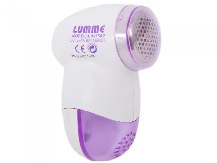 Машинка для сбора катышков LUMME LU-3502 фиолетовый