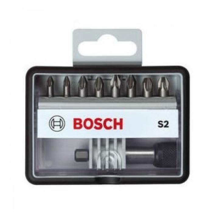 Набор бит Bosch держатель PH 25ММOBUST LINE 560