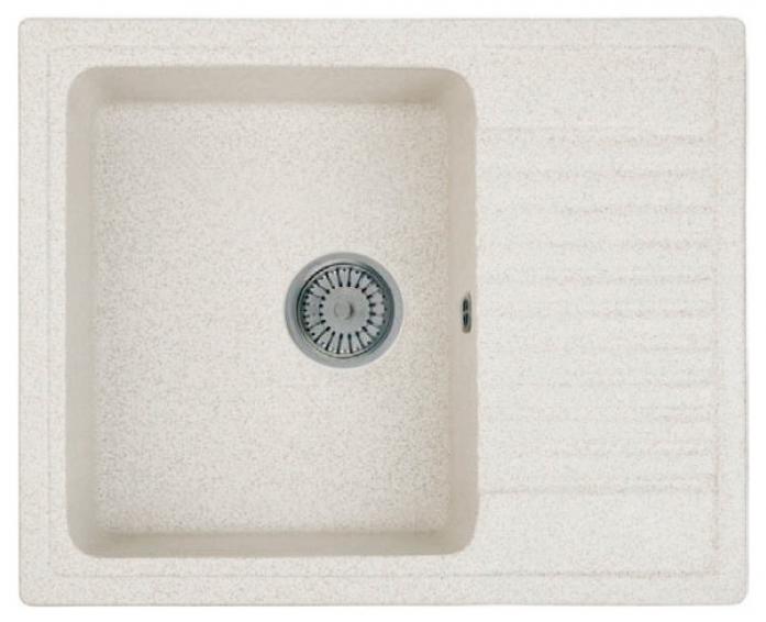 Кухонная мойка Whinstone Орион 1B 1D (арт. B10) светло-бежевый