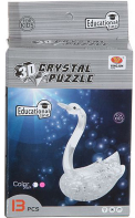 3D-пазл Crystal Puzzle Лебедь YJ6844