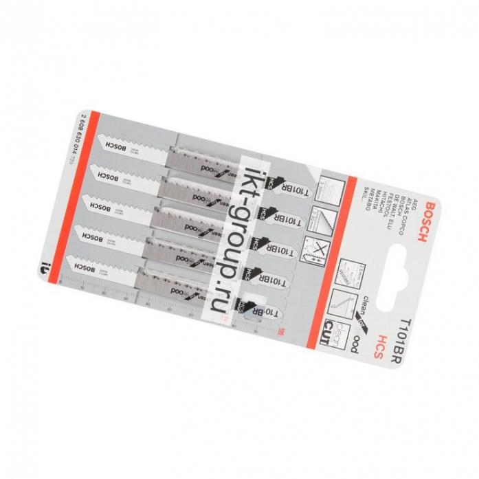 Набор 5 пилок Bosch T101BR
