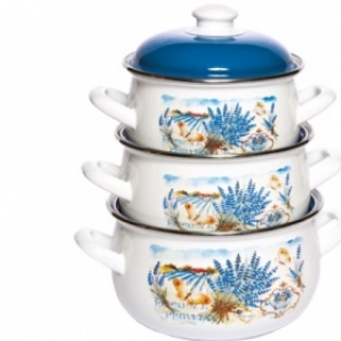 Набор посуды Interos 15248 Лаванда