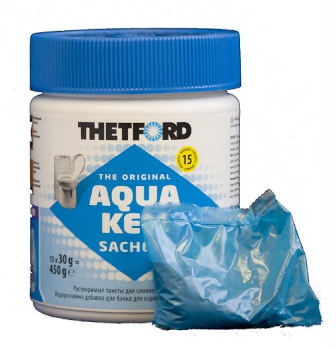 Акссесуар для биотуалетов Thetford Aqua Kem Sachets 450 гр. (15 пакетиков)