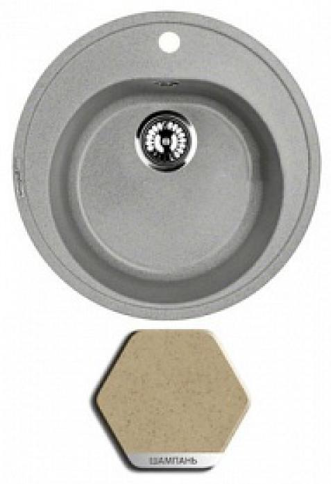 �������� ����� Weissgauff RONDO 480 granit �������