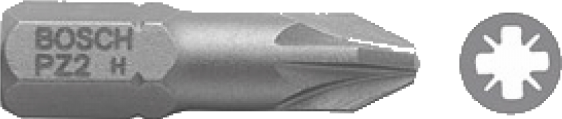 Набор 3 бит Bosch 25ММ PZ1 XH