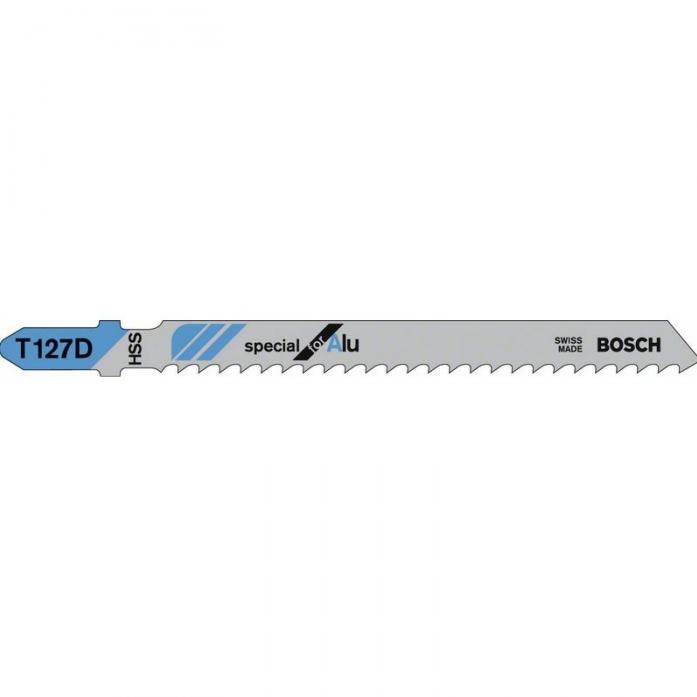 Набор 3 пилок Bosch T127 D HSS