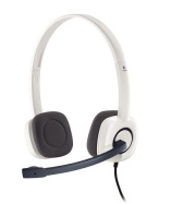 Наушники Logitech (981-000350) Stereo Headset H150, CLOUD WHITE