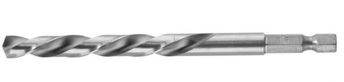 Сверло Bosch HSS-G 6-гр 8мм 1/4