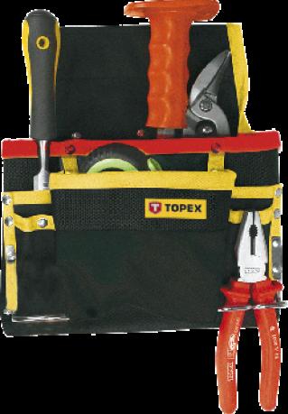 Карман для инструмента TOPEX 8 гнезд 79R432