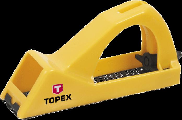 Рубанок-рашпиль TOPEX 140мм 11A406