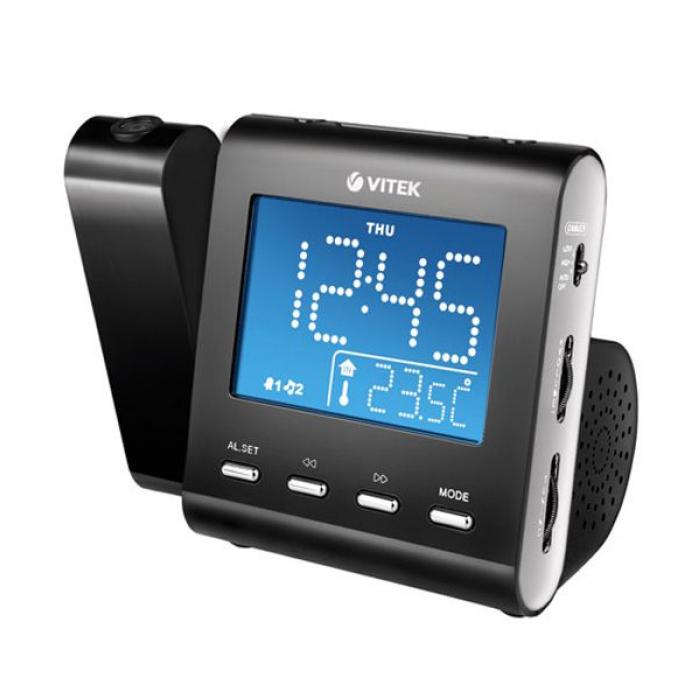 Радиочасы Vitek VT-3504 BK
