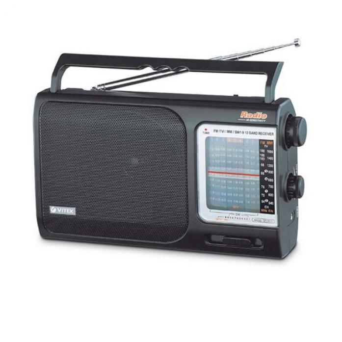 Радиочасы VITEK VT-3527 (BK)