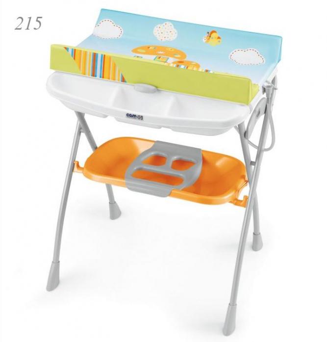 Пеленельный столик CAM Volare 215 с ванночкой