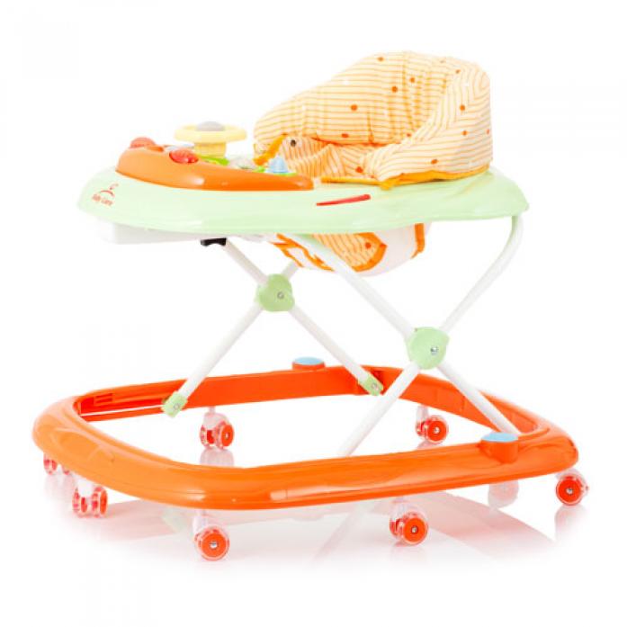 Ходунки Baby Care Pilot, (Orange)