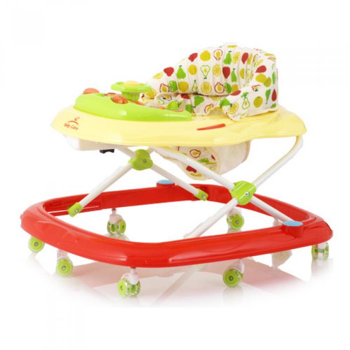 Ходунки Baby Care Pilot, (Red)
