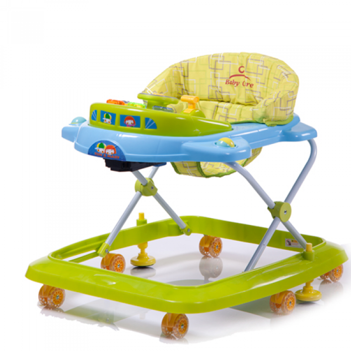 Ходунки Baby Care Tom&Mary, (Blue Green)