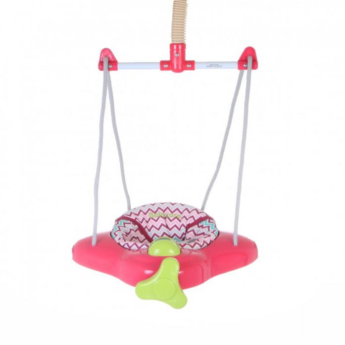 Прыгунки Baby Care Aero, (Raspberry Stripe)
