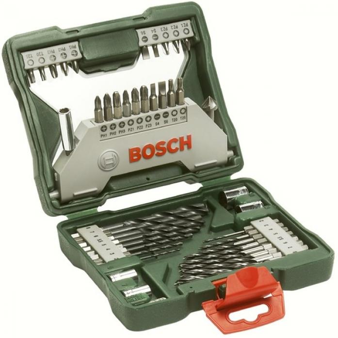 Набор бит и сверел Bosch X line 43 предмета 2607019613