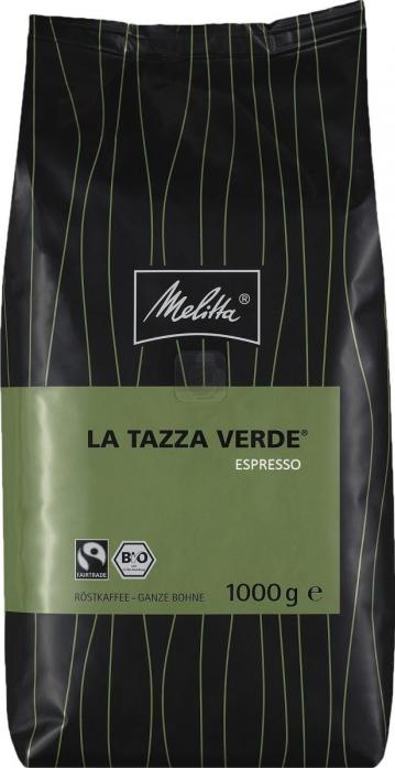 Кофе Melitta в зернах La Tazza Verde Espresso, 1кг (400)