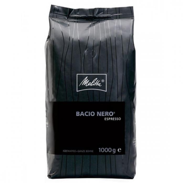 Кофе Melitta в зерназ Espresso Bacio Nero, 1кг (871)