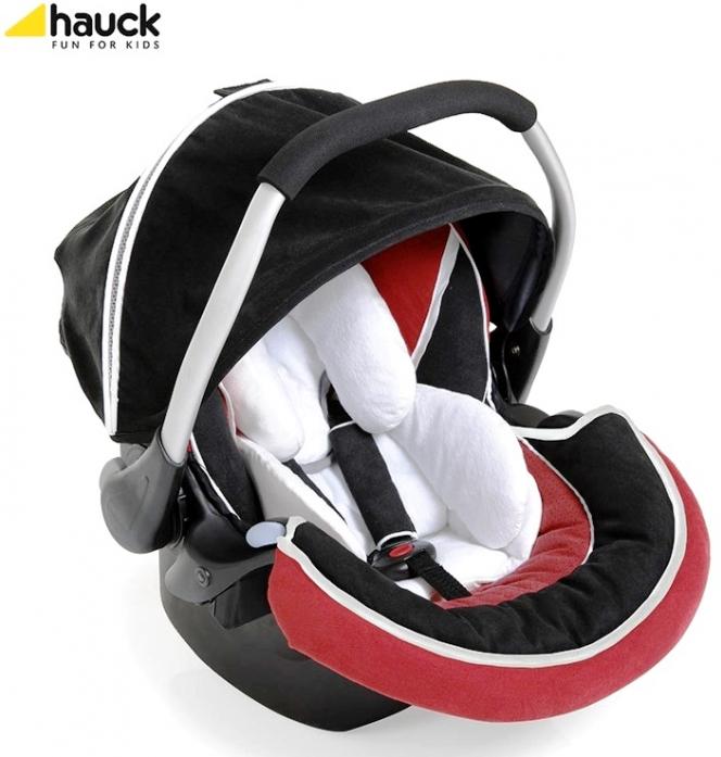 Автокресло Hauck Zero plus select (red/black)