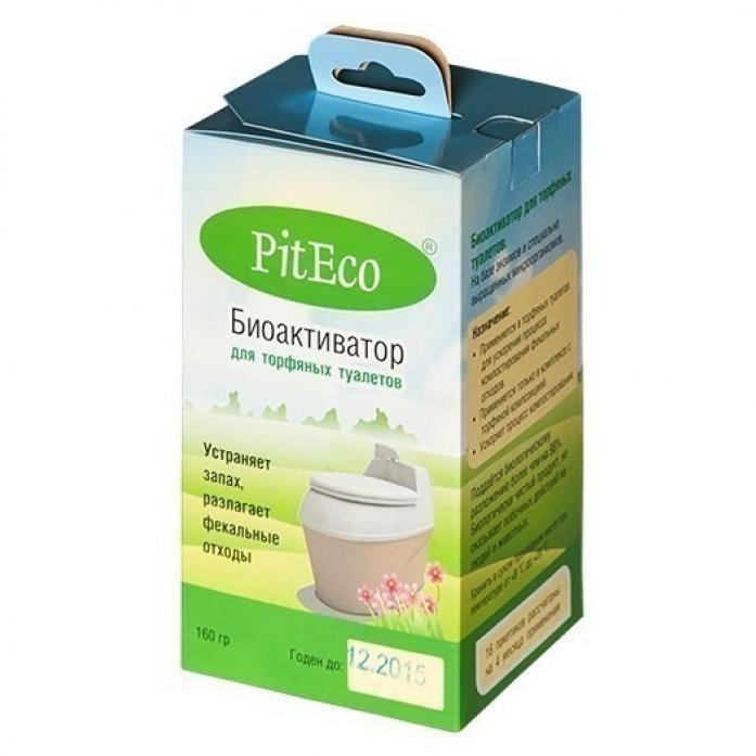 Акссесуар для биотуалетов Piteco Биоактиватор для торфяных туалетов 160гр