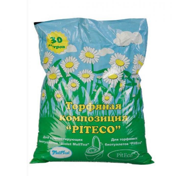 Акссесуар для биотуалетов Piteco Торфяная композиция 30 л