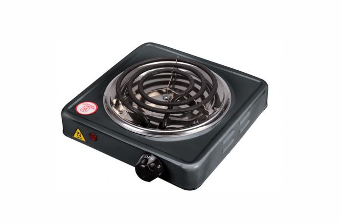 Настольная плита Чудесница ЭЛП-801 черная
