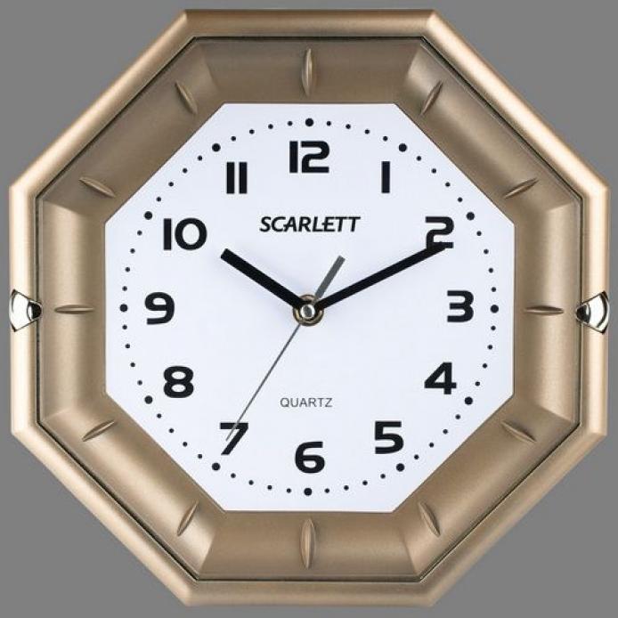 Часы настенные Scarlett SC 55QZ