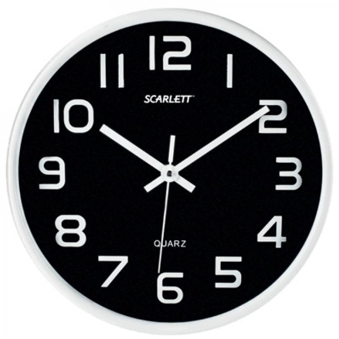 Часы настенные Scarlett SC-WC1001O
