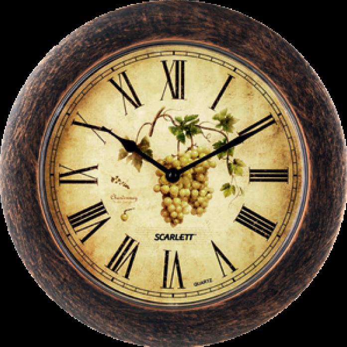 Часы настенные Scarlett SC-WC1002K