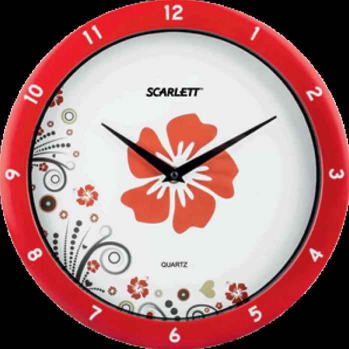 Часы настенные Scarlett SC-WC1003I