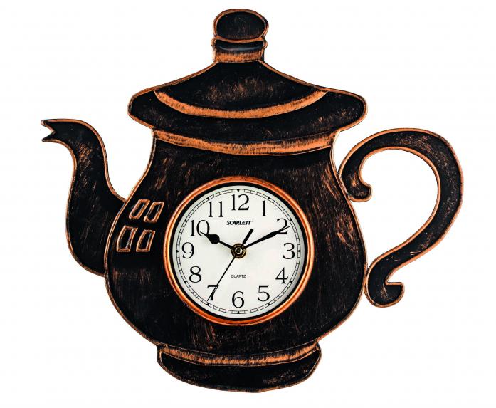 Часы настенные Scarlett SC-WC1004K