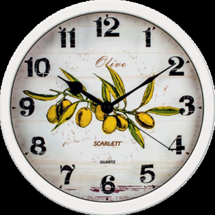 Часы настенные Scarlett SC-WC1005K