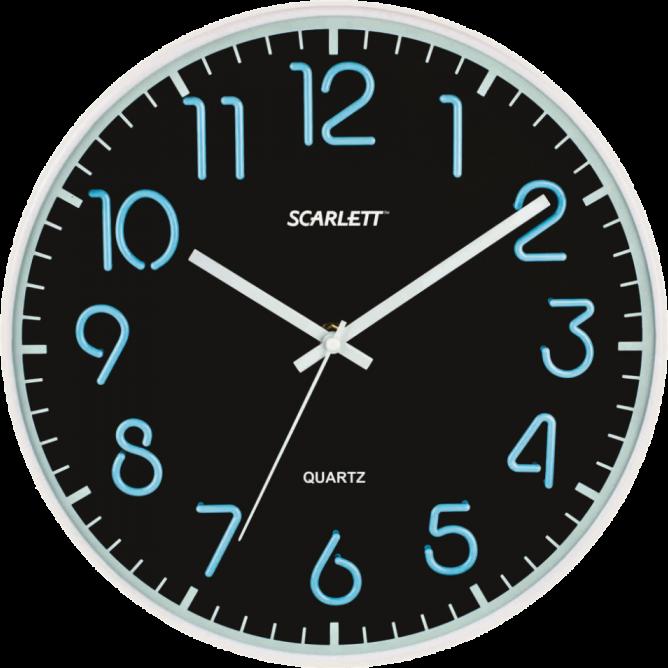 Часы настенные Scarlett SC-WC1007O