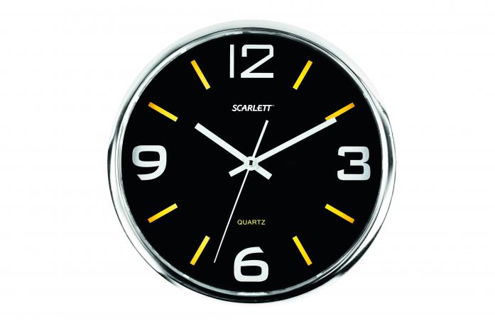Часы настенные Scarlett SC-WC1009O