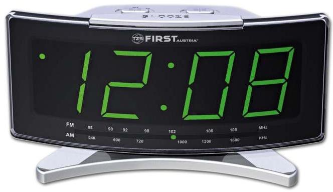 Радиочасы First FA-2416 Silver