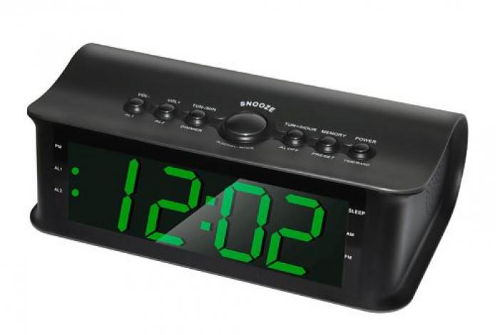 Радиоприемник с часами Rolsen CR-182