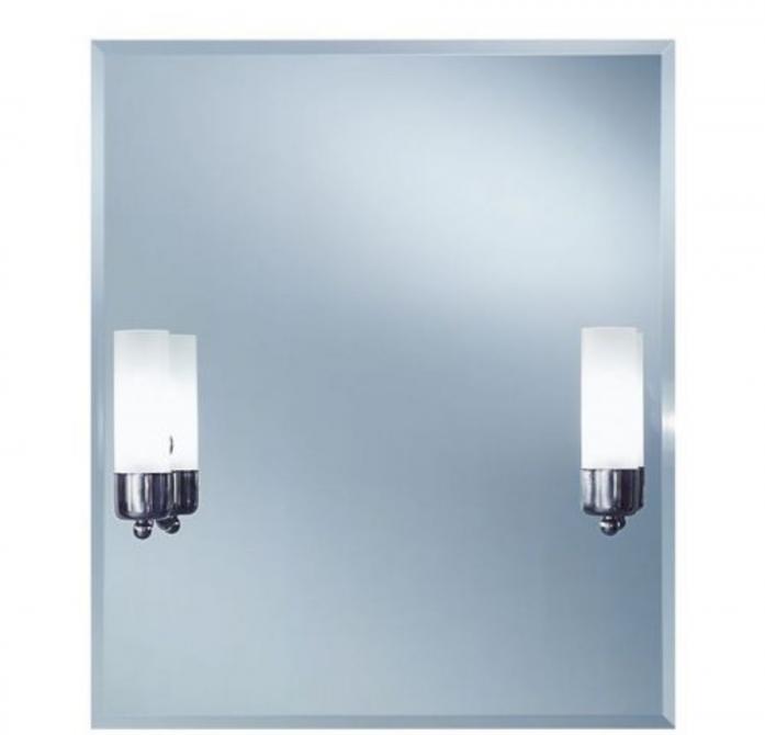 Зеркало интерьерное Lustro Cento (с подсветкой, фацет, 55x65)